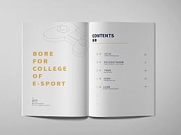 游戏电竞企业画册设计画册排版设计