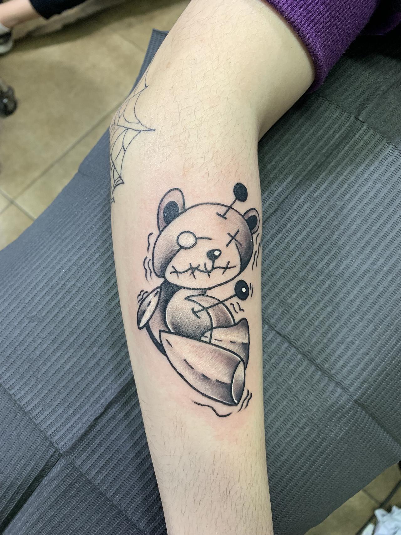 个性女生纹身图案#精致小纹身#吴江酷客纹身图片