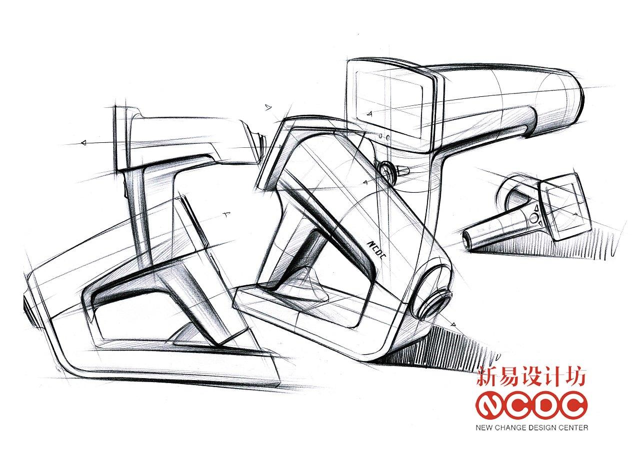 新易设计坊;工业设计手绘;手绘超精致表达