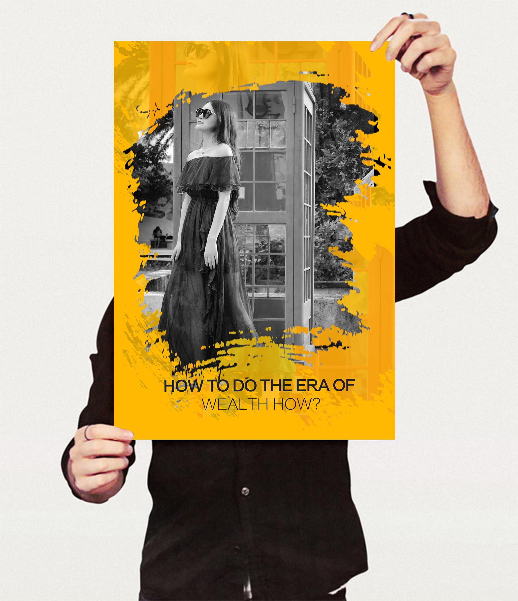 人物创意海报