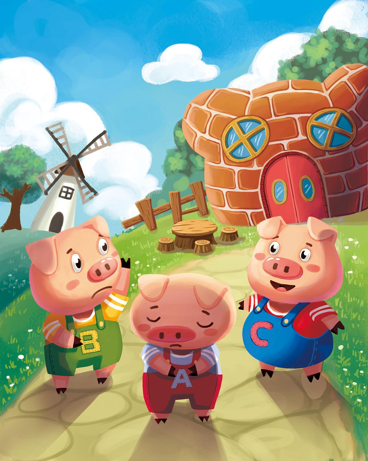 小猪卡通图片图片_小猪卡通图片图片下载图片