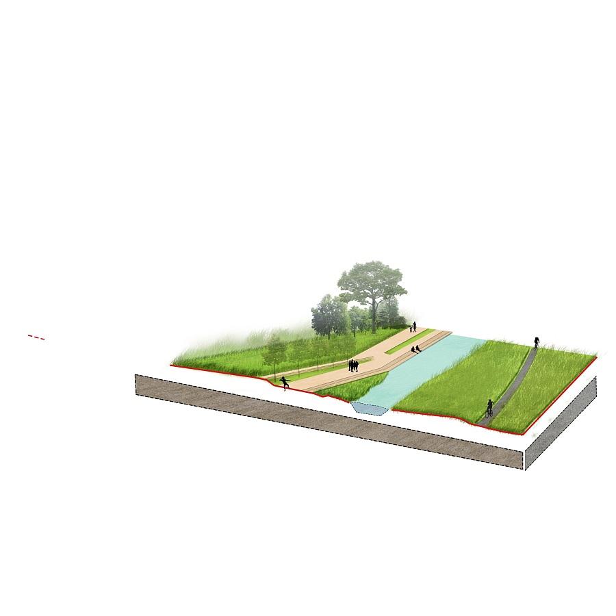 分析图/剖面图作品展示 景观设计 空间 ventionn