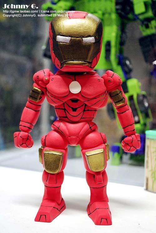查看《纯手工钢铁侠MK4托尼·斯塔克发在复仇者联盟那即将散去余温的时刻》原图,原图尺寸:500x747