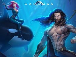 海王Aquaman同人插画创作过程