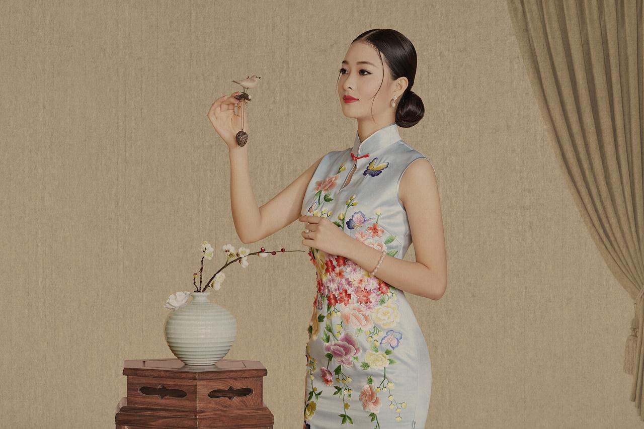 旗袍艺术人生中国风-新文人画摄影 - ★  牧笛  ★ - ☆☆【牧笛藝術视觉】☆☆