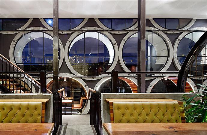 绿系花园餐厅 成都花园餐厅装修公司丨成都花园餐厅设计公司