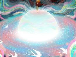 《試金石》-新冠狀病毒肺炎主題插畫