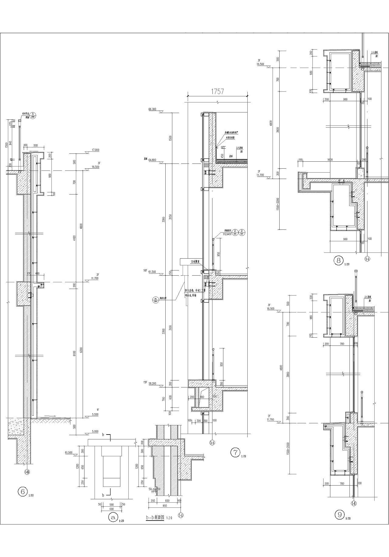 建筑施工电路囹�)�c_办公酒店公寓 建筑施工图