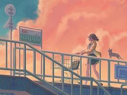 —天桥余辉—