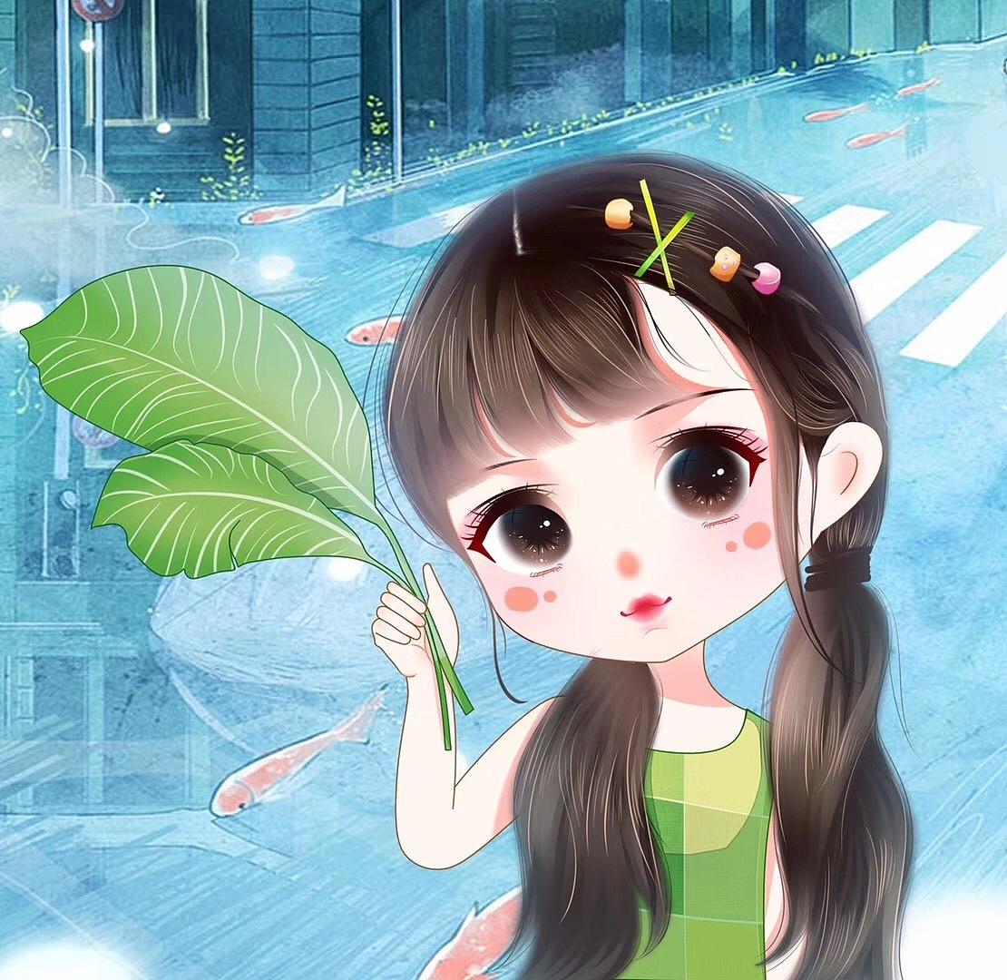 日系Q 孩子 肖像动漫 熊漫画手绘馆YJ-原创作图标漫画图片