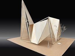 【空间设计模型】空间构成与实验设计练习