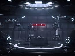 《一个智能机器手打造出来的兵器》
