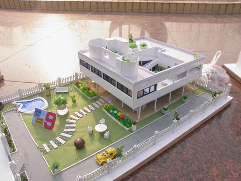 原创作品:建筑手工模型