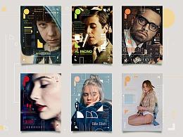 人像·海报设计|海报设计|版式设计|封面设计