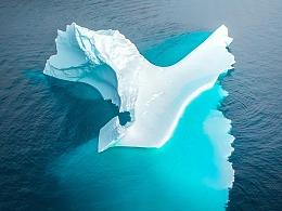 航行在北极 - 浮冰、极光、冰川