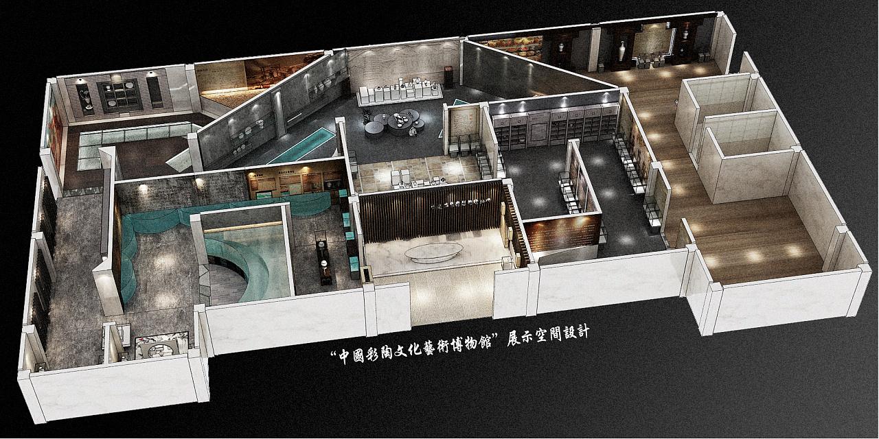 服装商业展示空间设计图展示