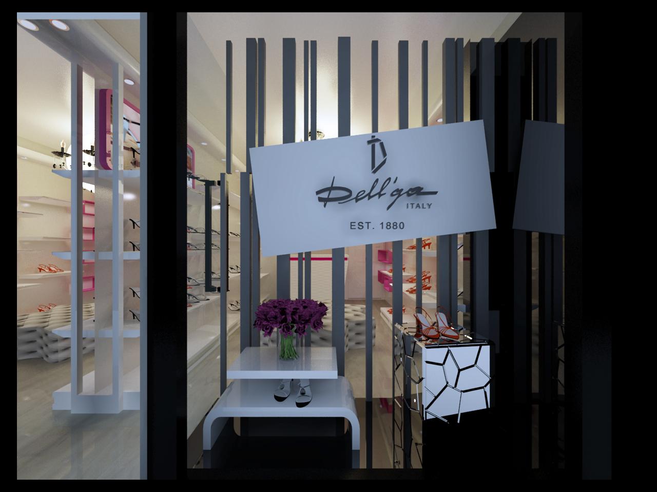 室内设计--鞋店设计