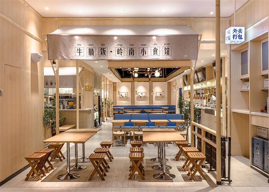 轻快餐店 · 餐饮空间设计_牛楠楠 惠州店
