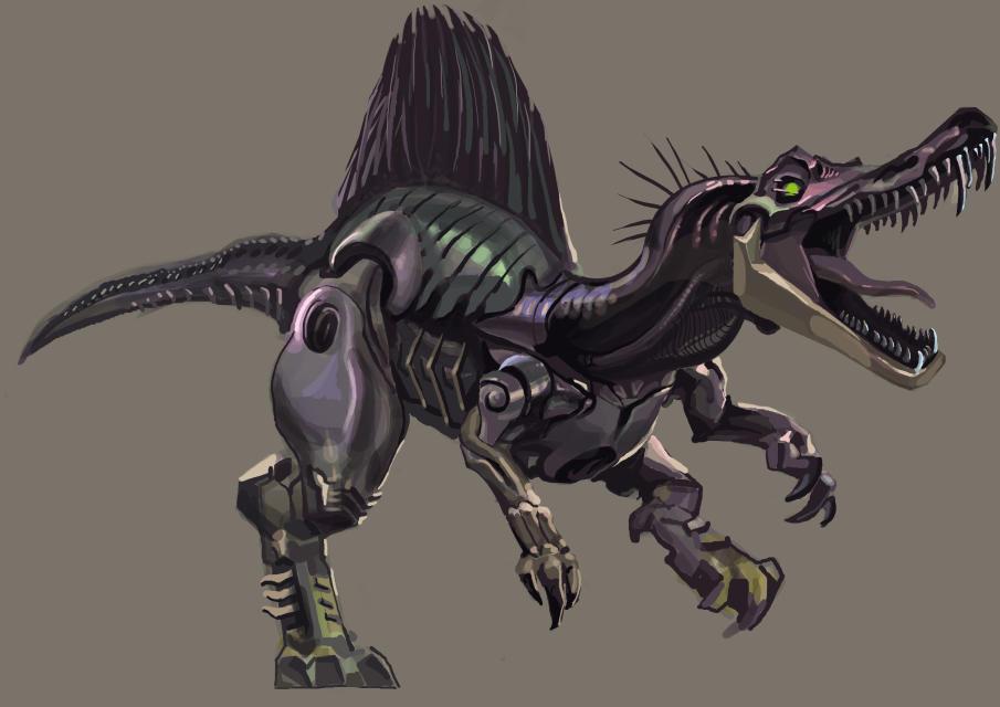 变形金刚-恐龙