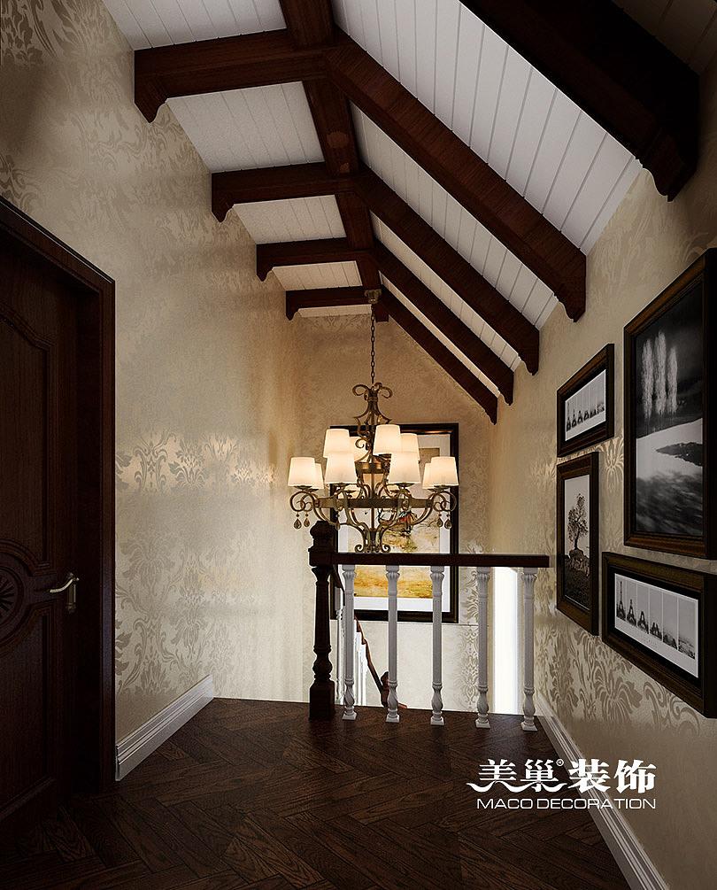 天伦庄园叠加复式别墅装修效果图图片