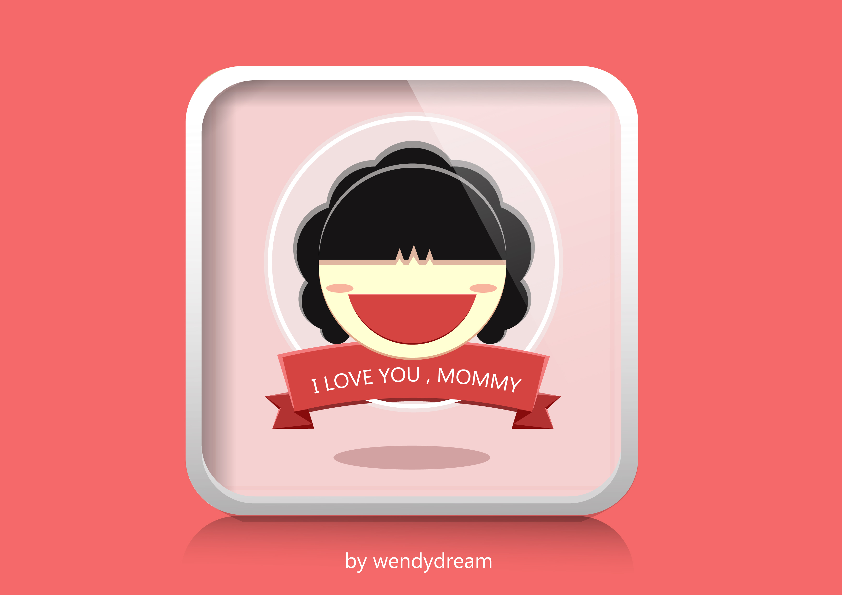 ohyesmommy_ui设计 i love you,mommy