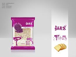 食品包装 吐司包装 面包包装 休闲食品