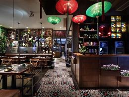 深圳餐厅设计:川式火锅餐厅设计:花椒遇见辣椒