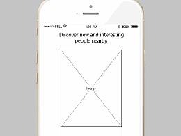 社交类APP原型模板分享——Tinder