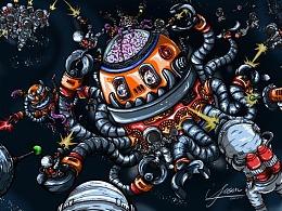 2020.11.11星际探索之大战章小鱼