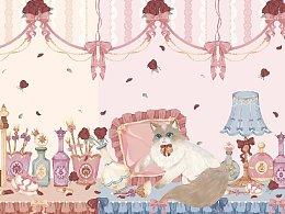 lolita-布偶梳妆台