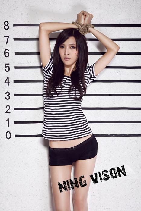 高个子美女的 监狱照