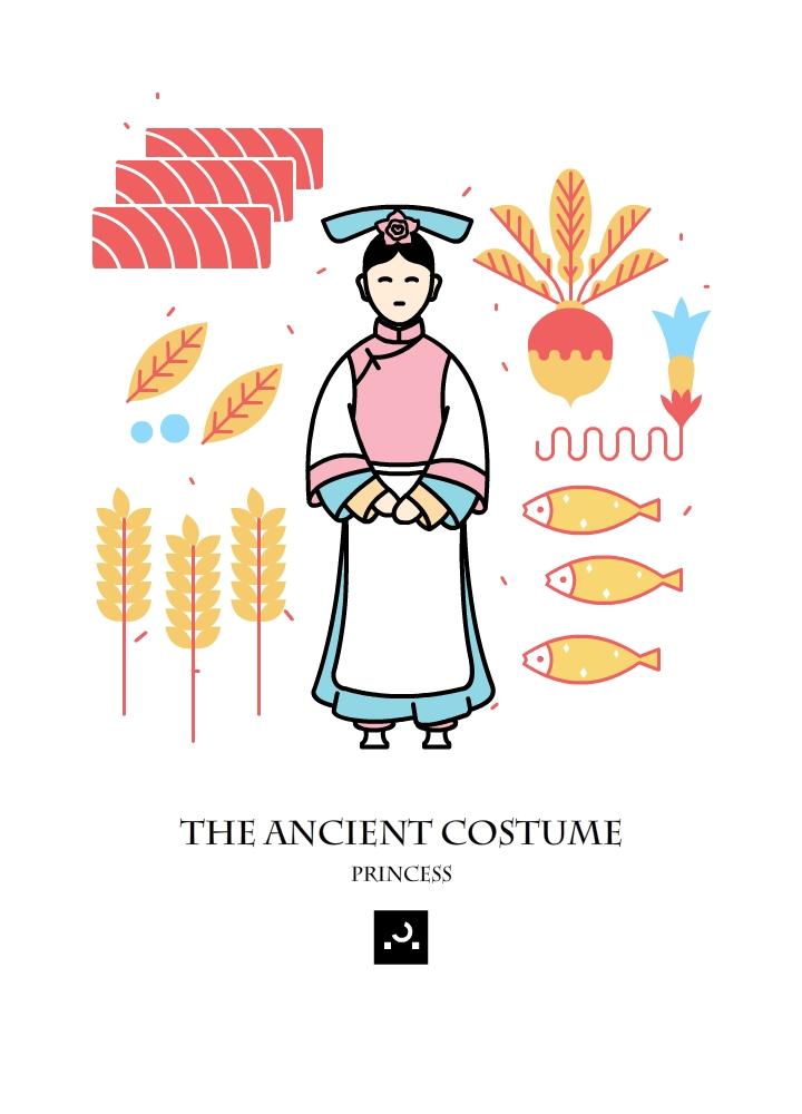 原创作品:古代人物服饰