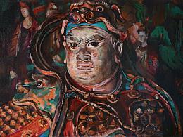 佛像绘画系列