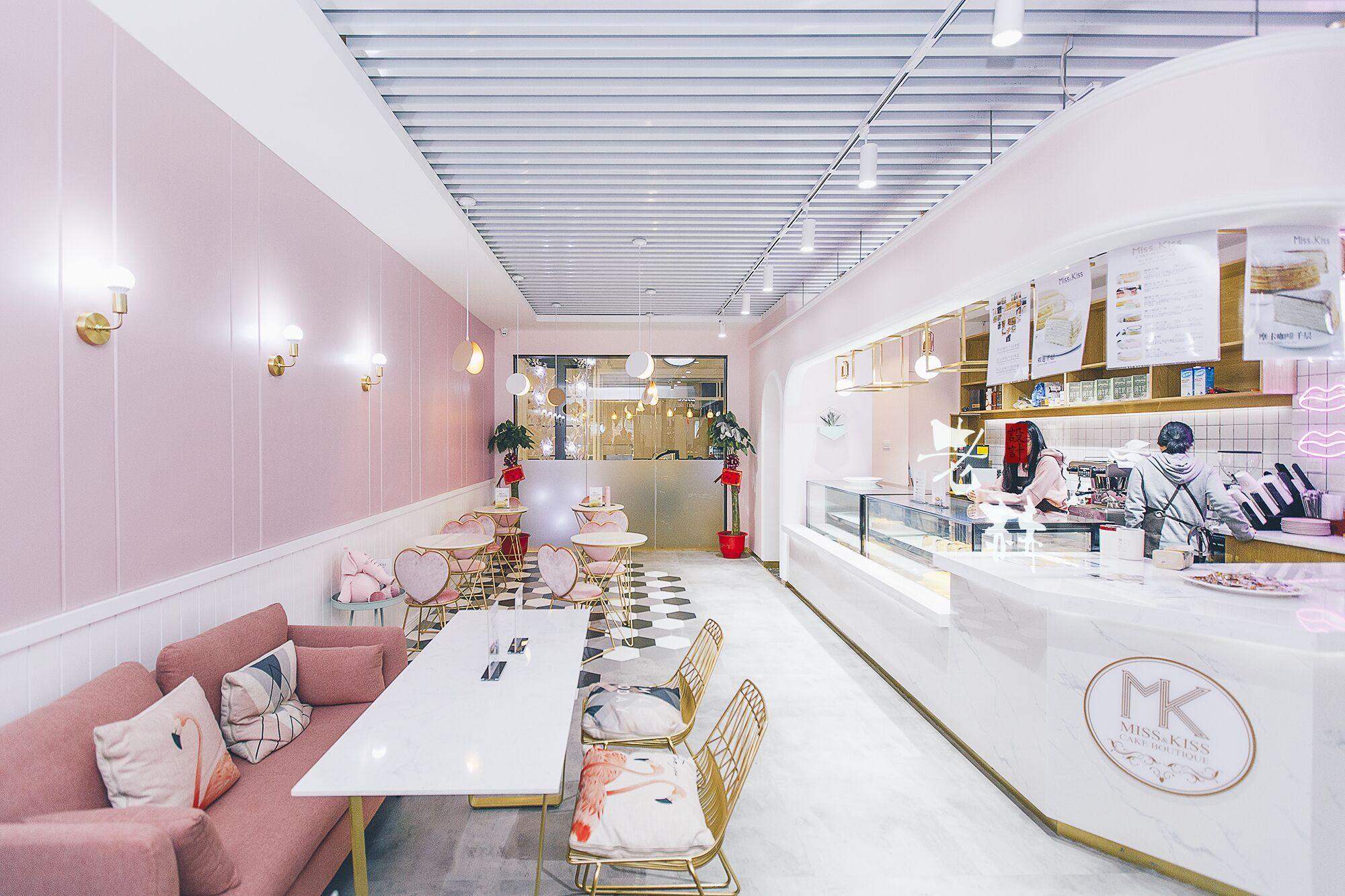 mk蛋糕店设计实景照|空间|室内设计|rohenry - 原创