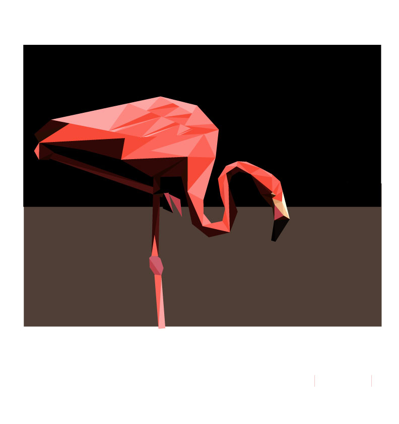 多边形练习,主要练习物体结构,颜色的把握