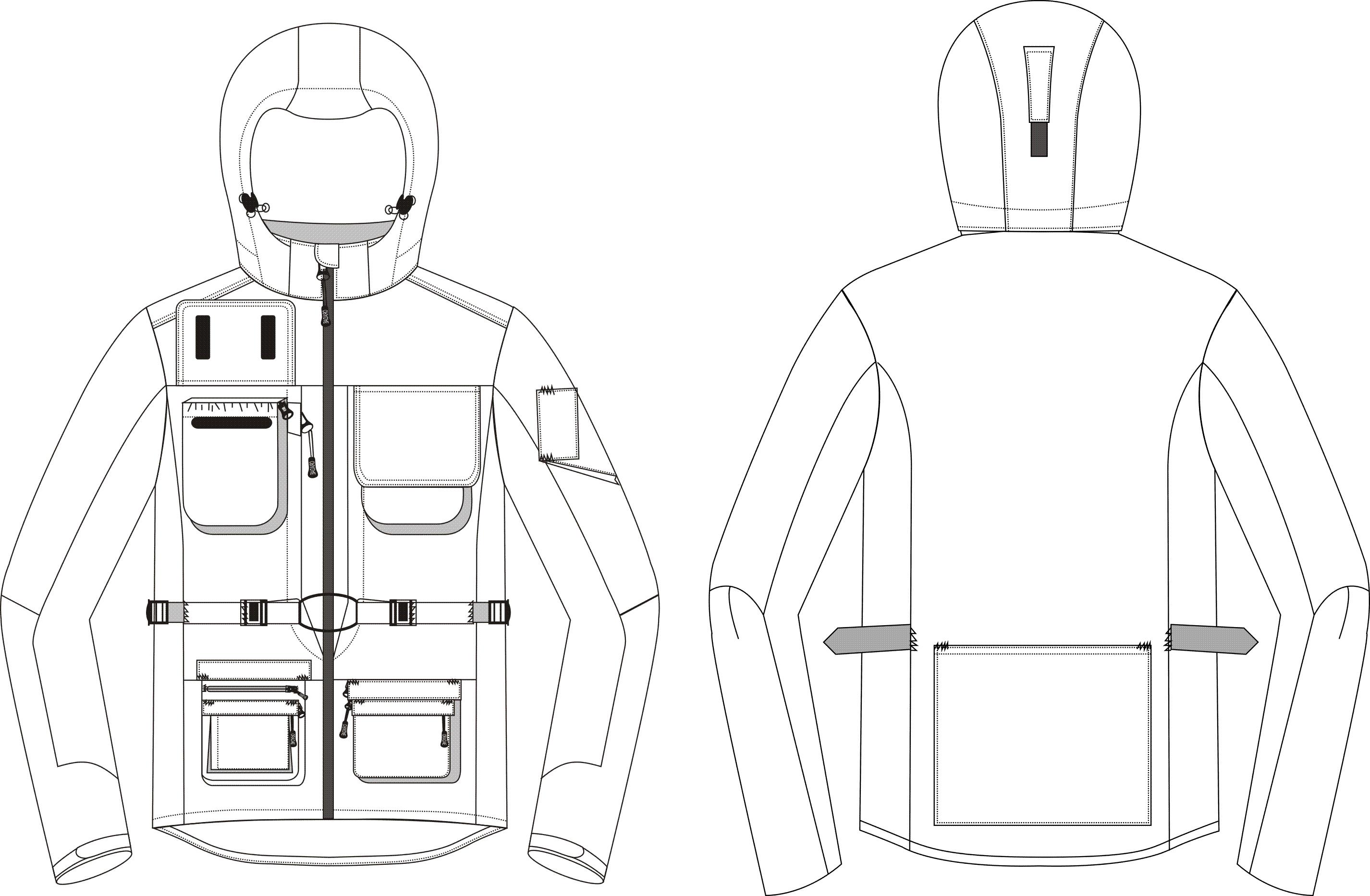 服装手绘效果图|运动服饰|服装|陈大英cy - 原创设计