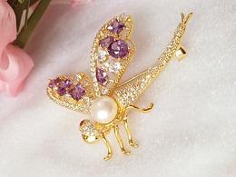 蜻蜓 ----- 胸针
