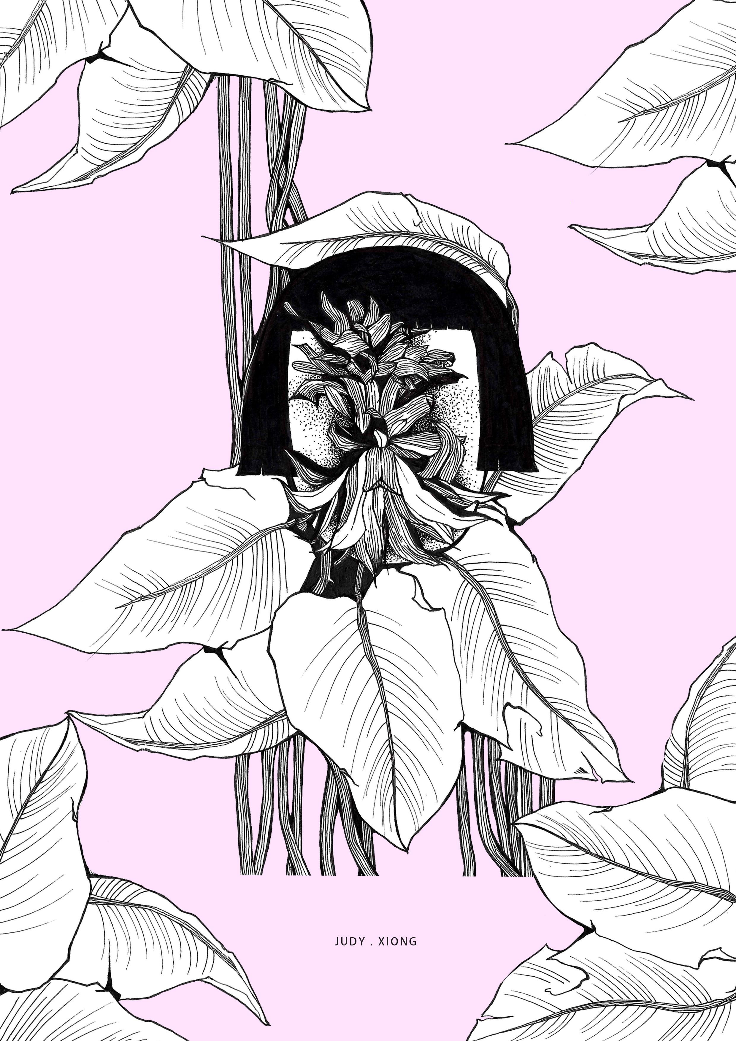 沉默植物(针管手绘)