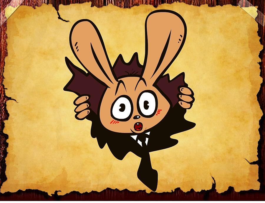 兔经典匪匪形象十七|单幅漫画|狐狸|兔匪匪-原漫画6动漫格图片