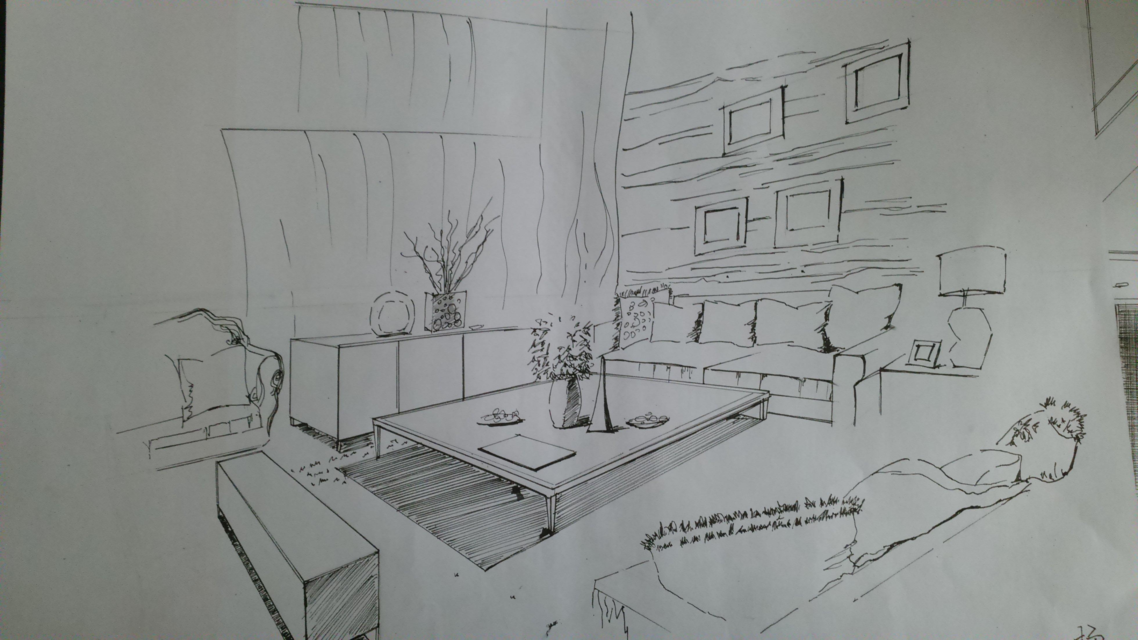 室内手绘练习