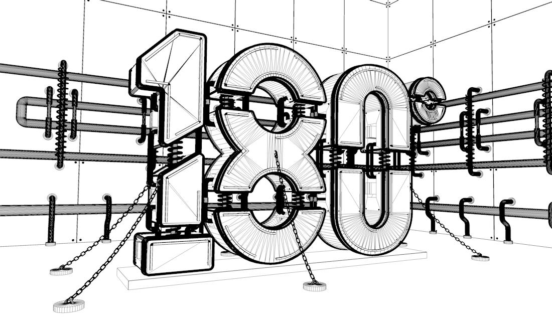 工程图 简笔画 平面图 手绘 线稿 1100_660