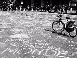 暴恐后的布鲁塞尔广场