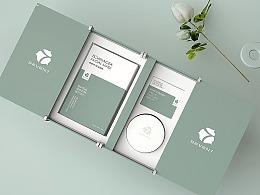 素雅|宁静|唯美风 面膜包装品牌形象设计