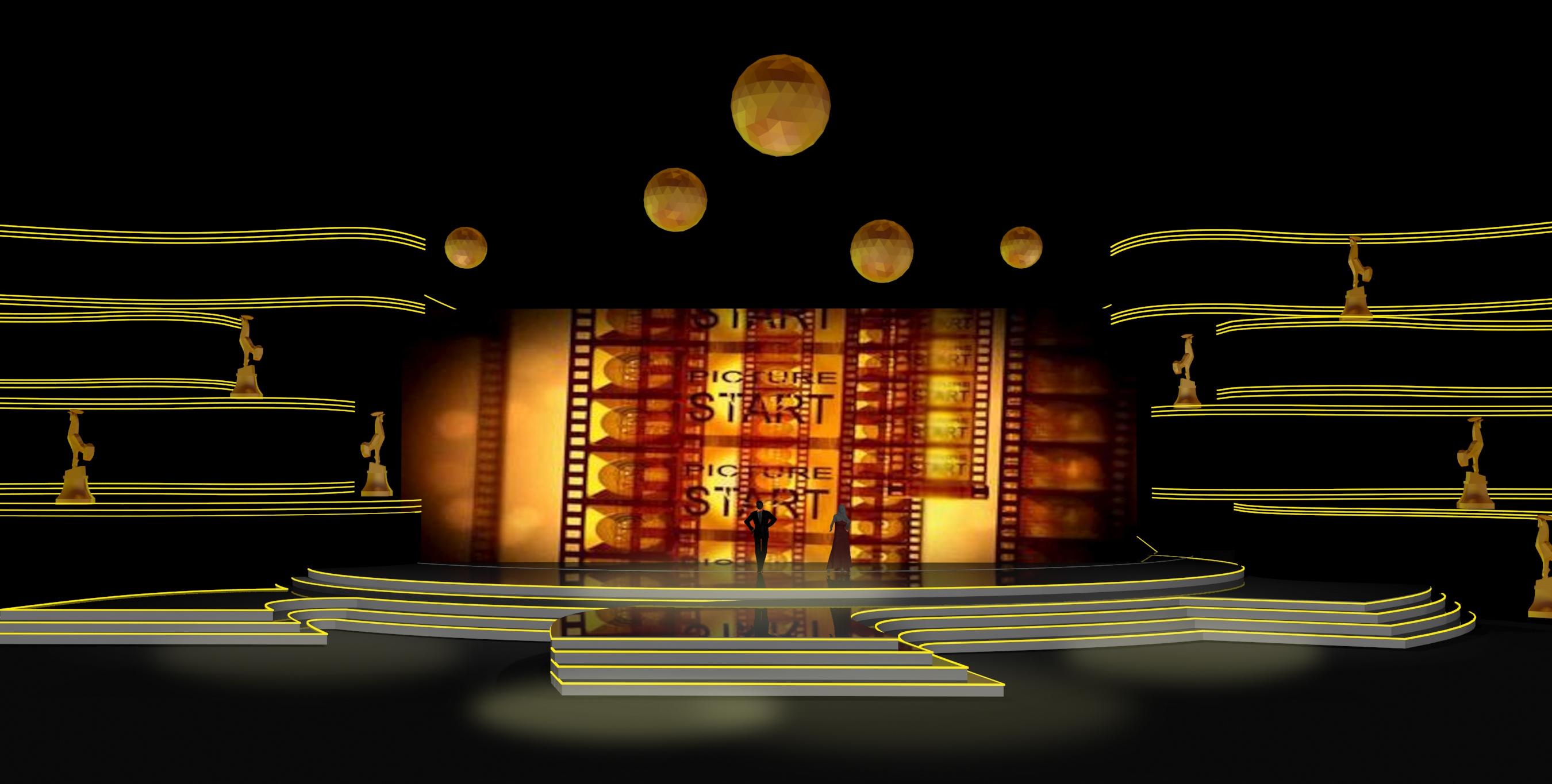 第24届中国金鸡百花电影节颁奖典礼舞美设计图片