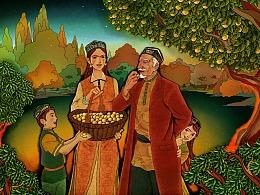 新疆品牌水果-小白杏