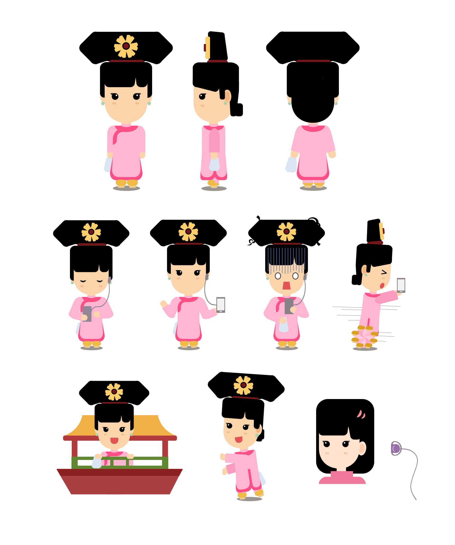 卡通动画人物_小动画卡通人物形象设计