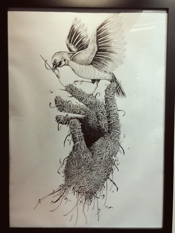 针管笔手绘涂鸦