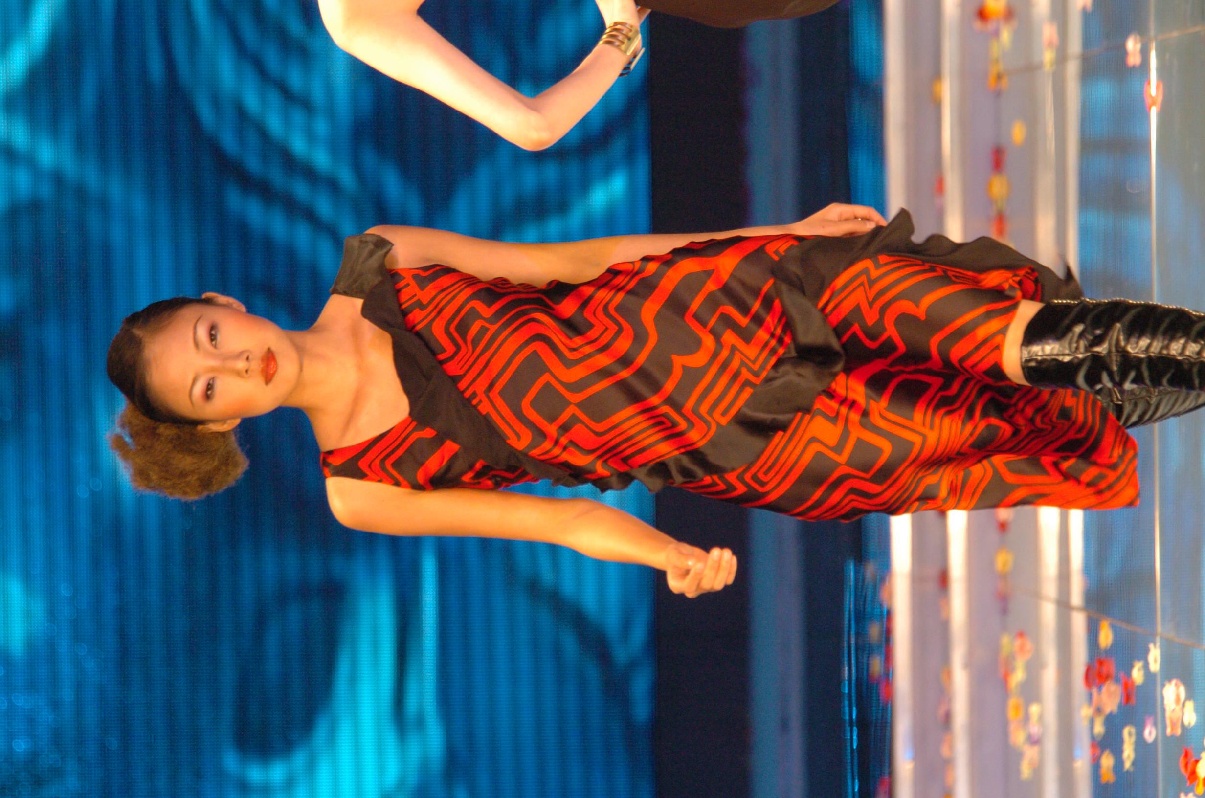 燃红激情-丝绸时装设计系列|服装|正装/礼服|jack