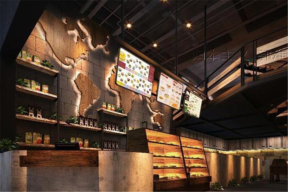 周口河南漫案例餐饮设计标号北京海岸设计proteus咖啡绘制图片