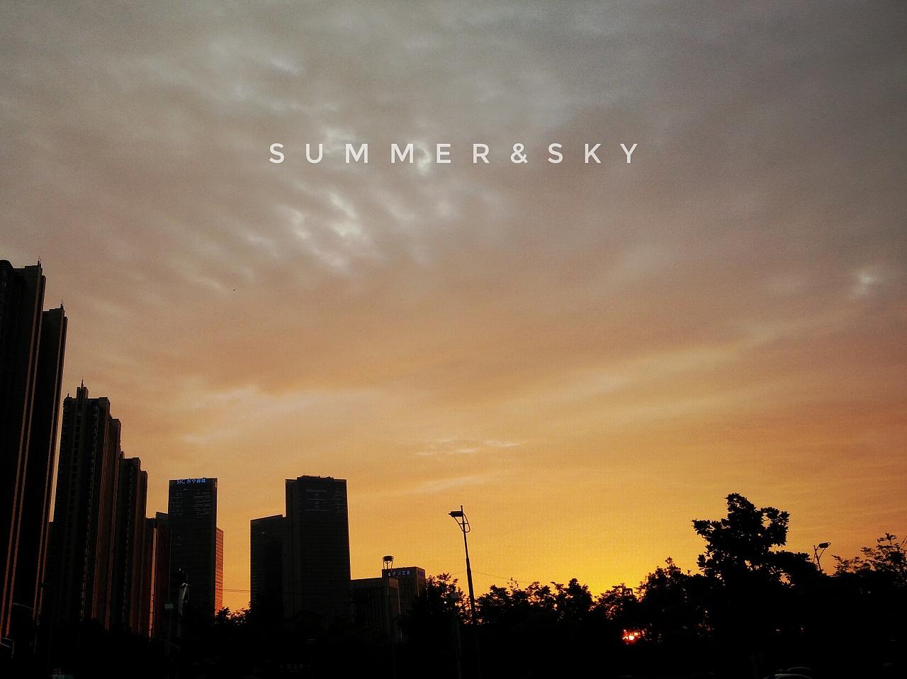 summer&sky
